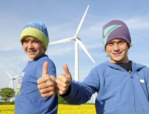 'Windenergie, natürlich!'