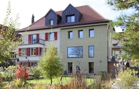 Wohnhaussanierung im Minergie-P Standard